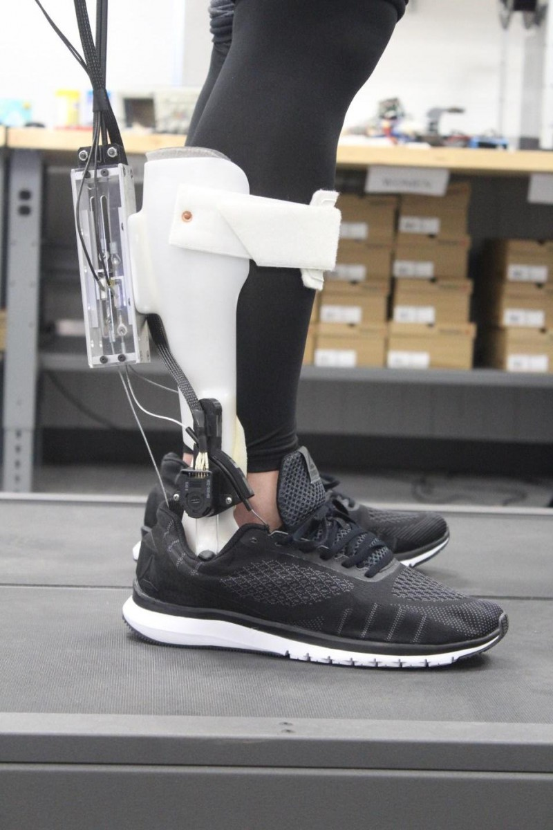 The Stevens-developed orthotic device
