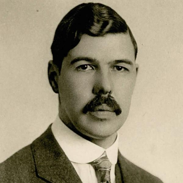 Portrait of Louis Alan Hazeltine, Stevens Class of 1906