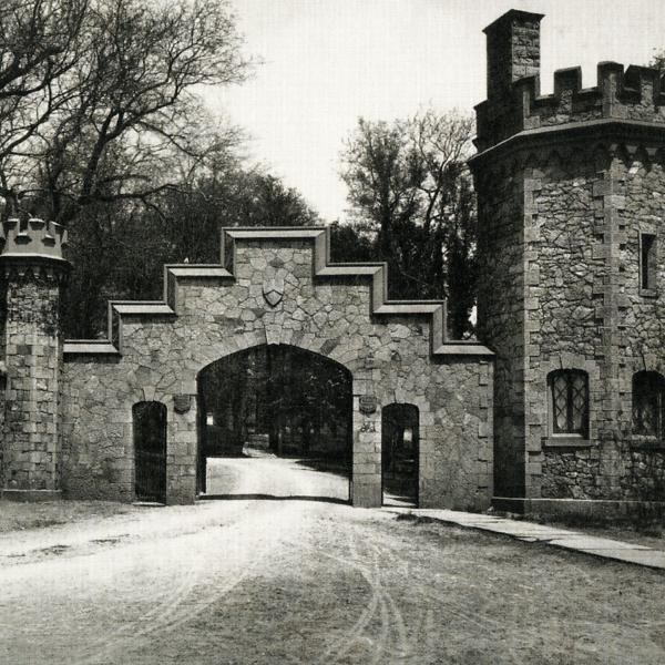 Historical photo of Gatehouse at Stevens Institute of Technology